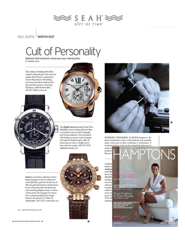 SEAH® Cult of Personality Watch spotlight