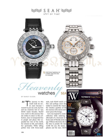 International Watch Magazine can't get enough of our SEAH® Watch collection