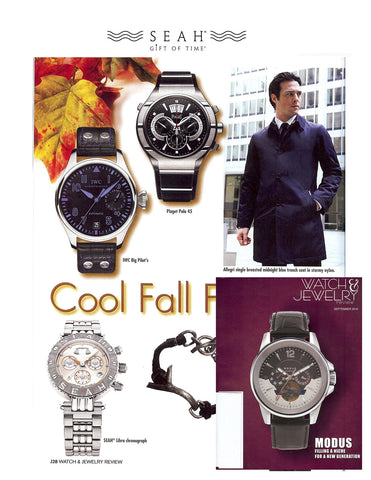 Watch Jewely Magazine features SEAH® watches