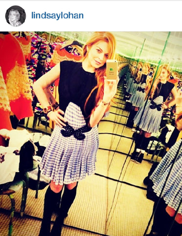 Lindsay Lohan Loves SEAH® Designs
