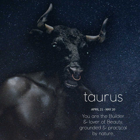 Taurus horoscope for SEAH® Designs Taurus Zodiac Season Horoscope Reading from Rachel Levy