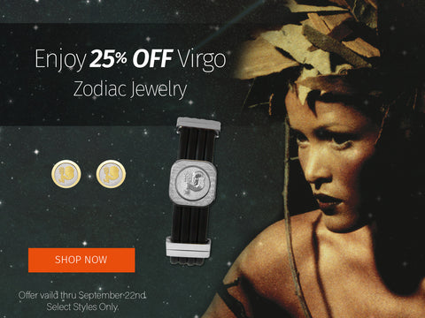 Virgo Birthday Reading and jewelry discount for Virgos from SEAH Designs