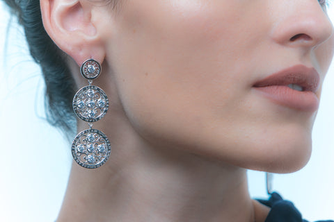 Lace Earrings SS (LSS-LE-925)