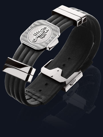 Men's Zodiac Seasons Leather Bracelet MB-BAL-SS