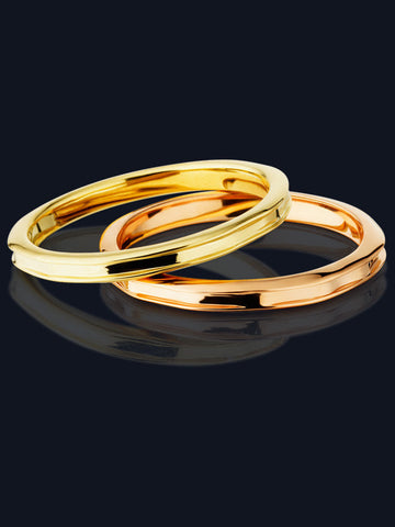 14k Yellow or Rose Gold Rings MR-1-RG