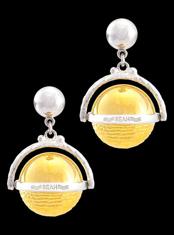 Planets Collection Jupiter Italian TT Earrings