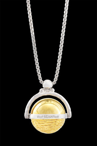 Planets Collection Jupiter Italian TT Necklace