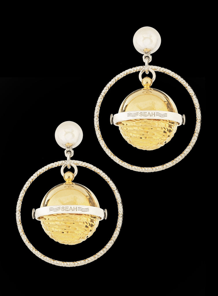 Planets Collection Saturn Earrings