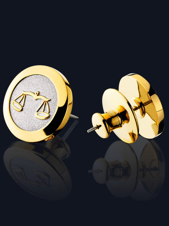 Zodiac Stud Earrings SE-TT