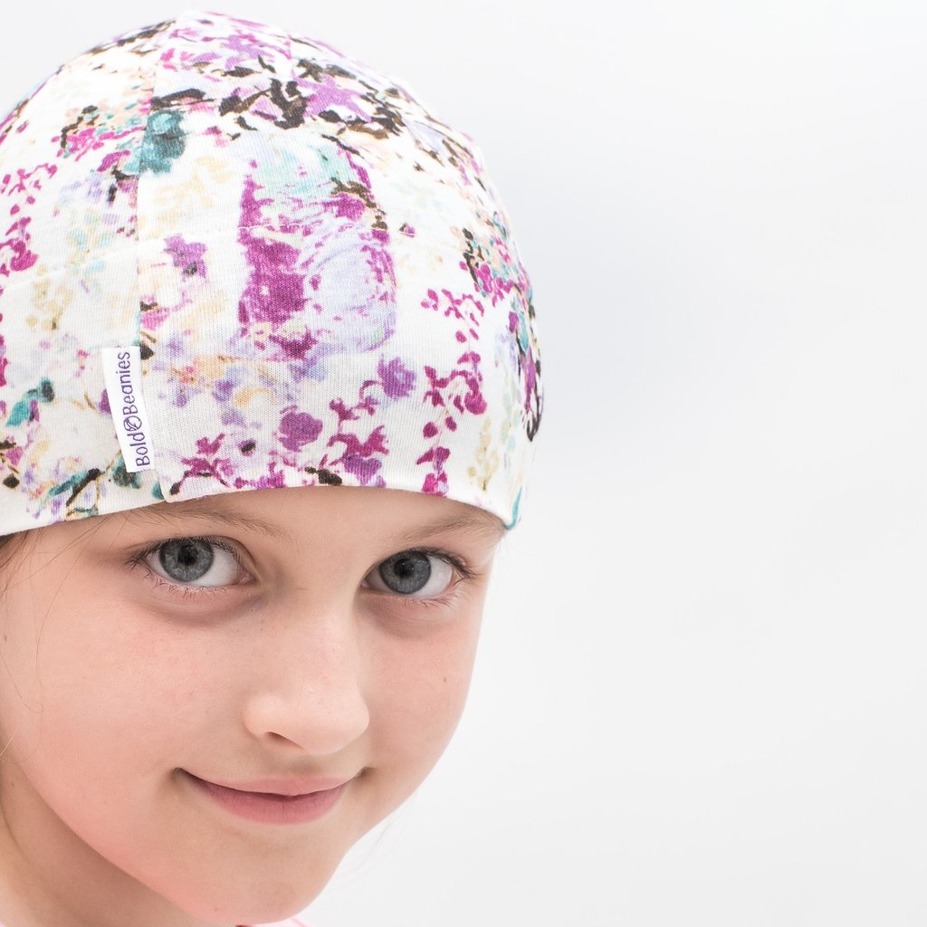 Liberty Print Hats Headwear for Children's Hair Loss