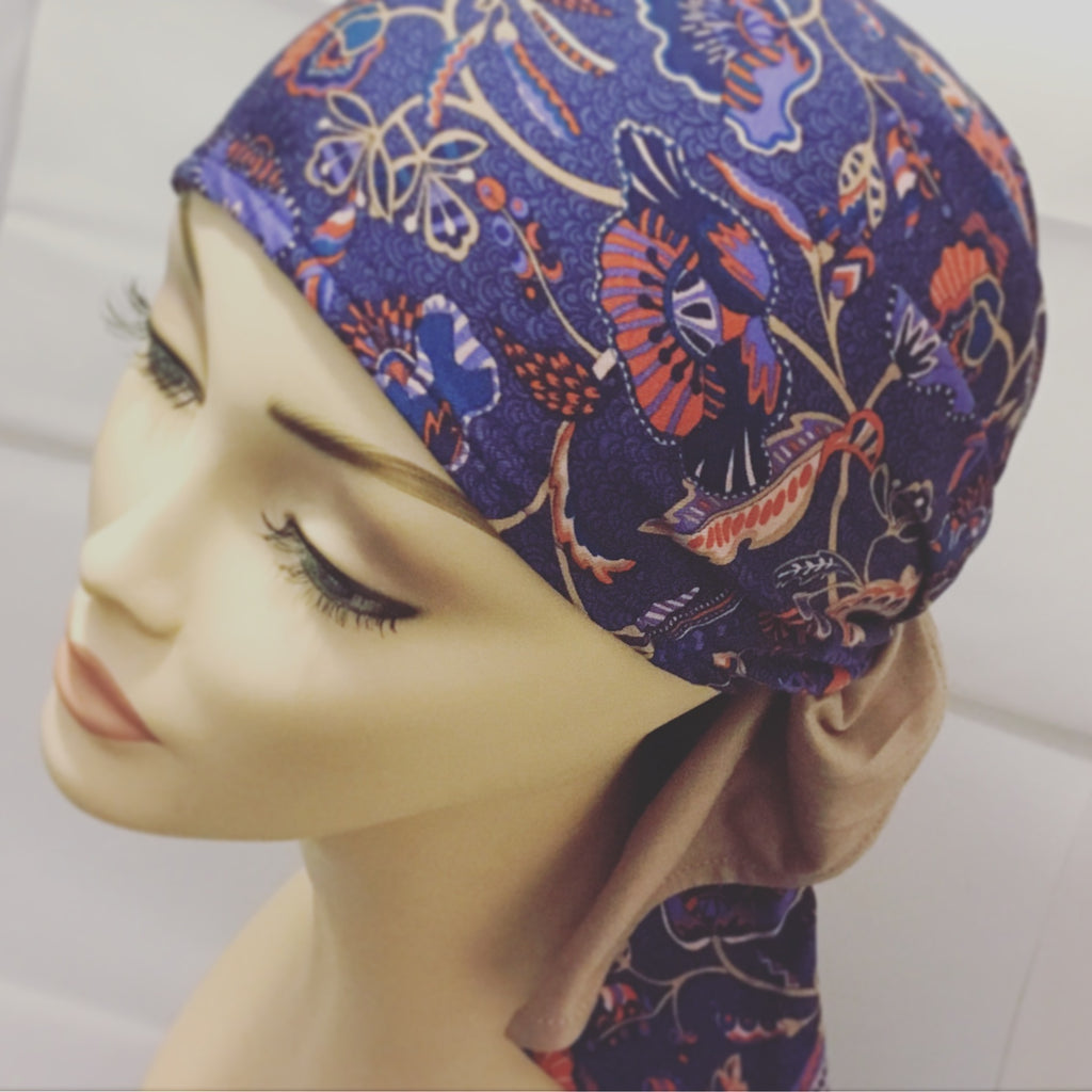 Women's Pretty Cancer Hats Scarves Head Wraps UK