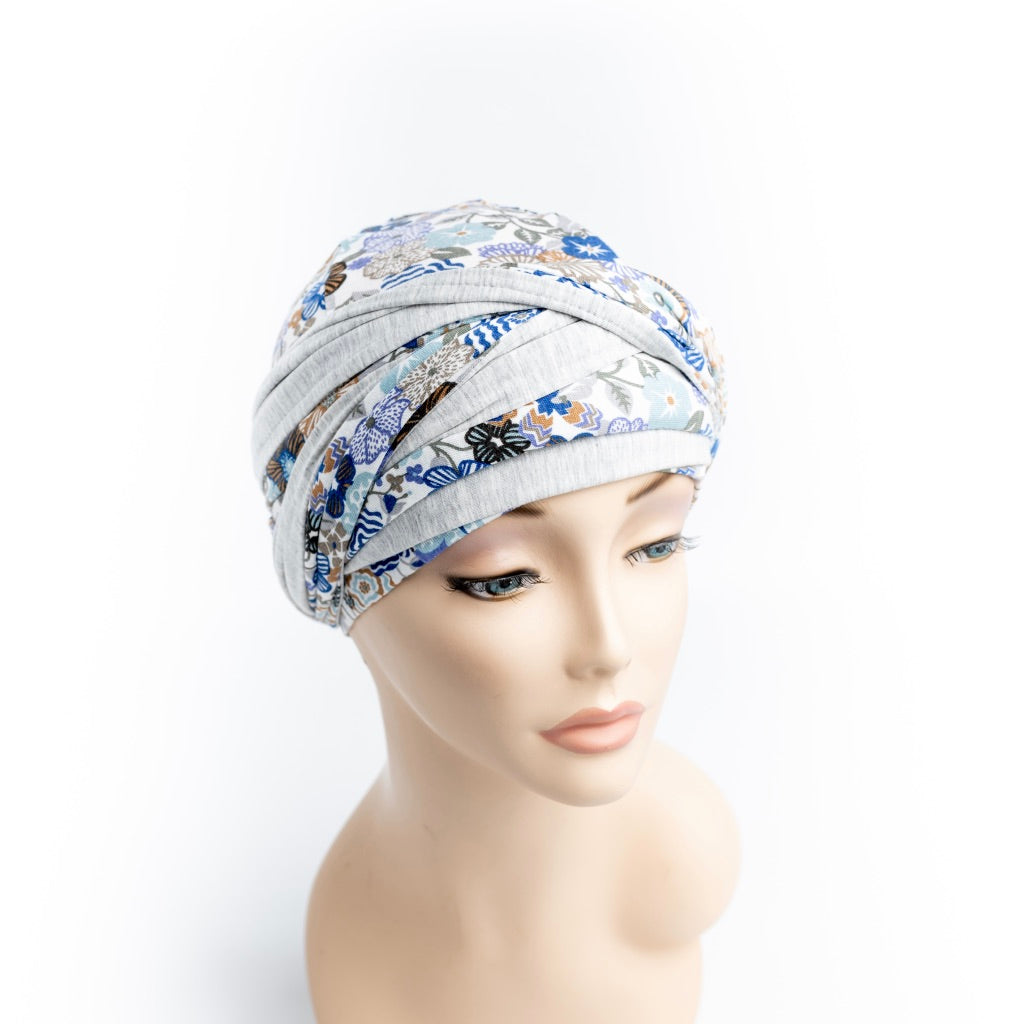 New Gorgeous Liberty Double-Sided Head Wraps