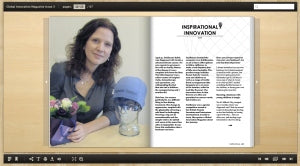 Global Innovation magazine Bold Beanies Cancer hat interview