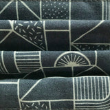Graphic Print Grey Eco Face Covering