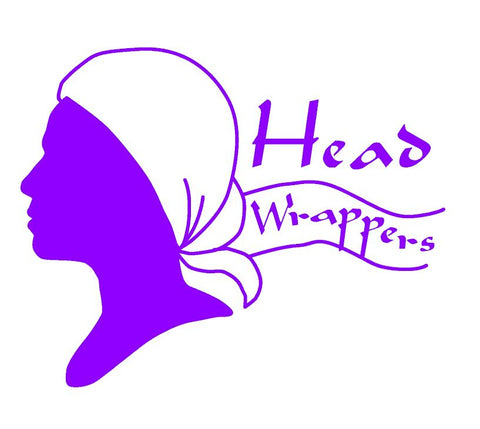 HeadWrappers Charity Plain Purple Bold Beanies Cancer Hat