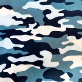 Camouflage Print Cotton Bandana Mens Cancer