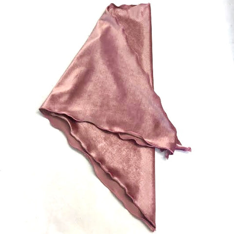Pink Velvet Cancer Head Scarf