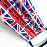 Union Jack flag Cotton Re-useable face mask