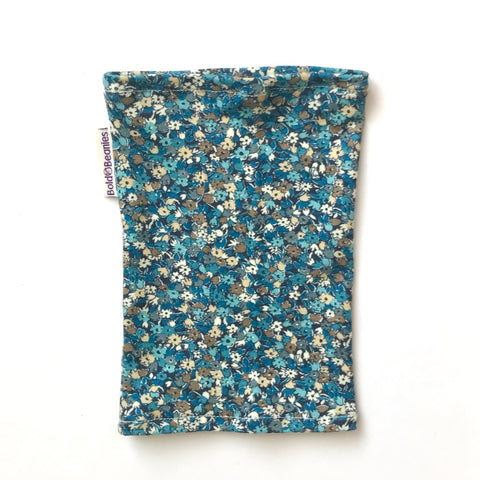 Liberty Pretty Ditsy Blue Floral Print Picc Sleeve