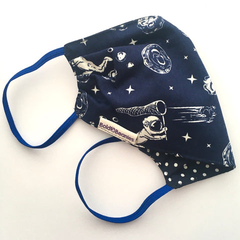 Fun kids Astronaut Flu Face Mask