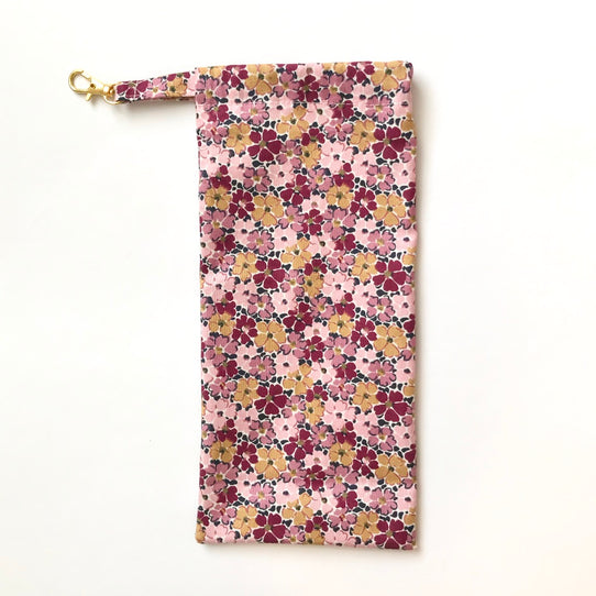 Liberty Floral Print Face Mask Carry Bag Eco