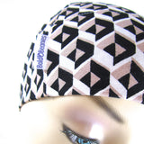 Graphic Print Soft Cotton Alopecia hair Loss hat