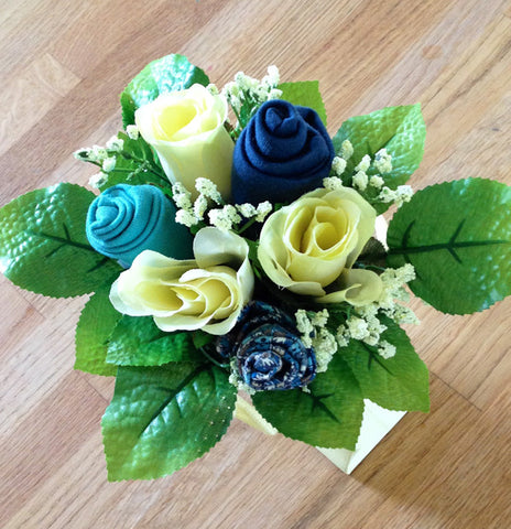 Blue Skies Bold Beanies Gift Posy Bouquet