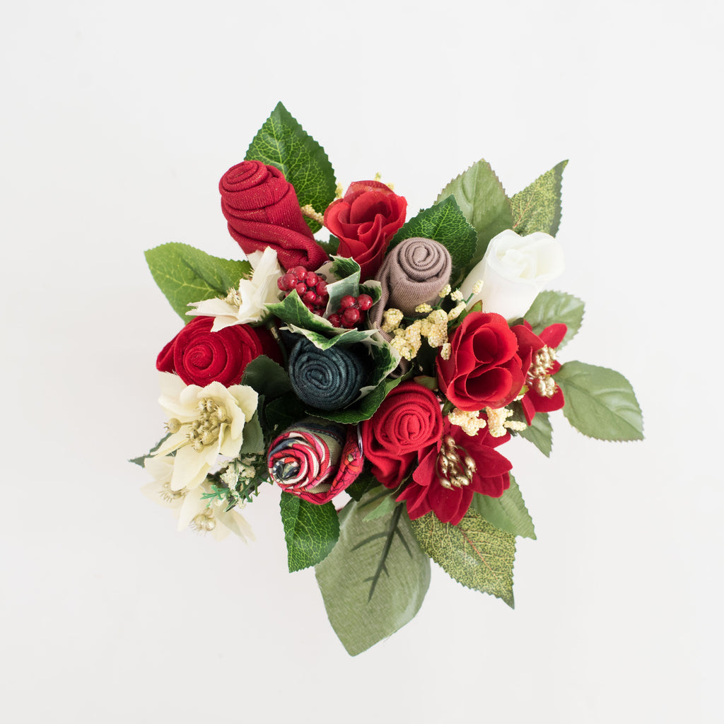 Flower Gifts Bold Beanies Hats Bouquet And Roses Gifts