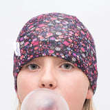 Allsorts Liberty Print Girls Thin Beanie Hijab