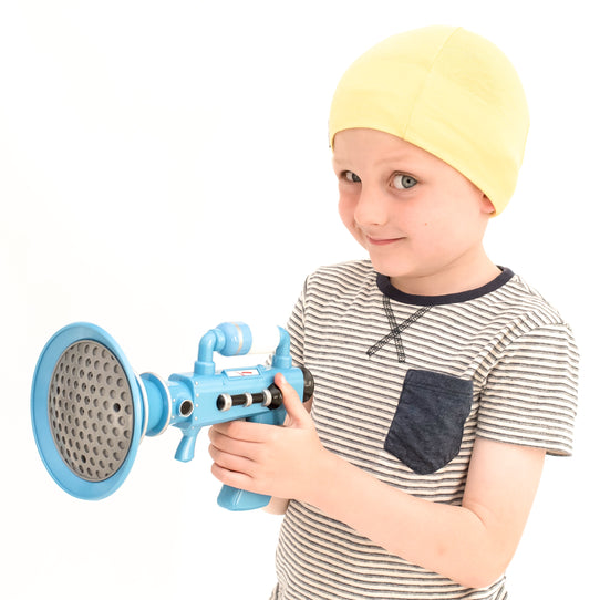 Unisex Yellow Cotton kids cancer Hat