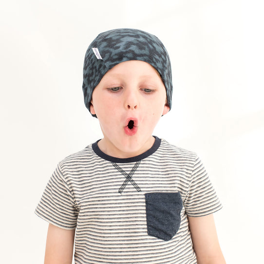 Soft Cotton Liberty blue Hats Helmet Liners for boys