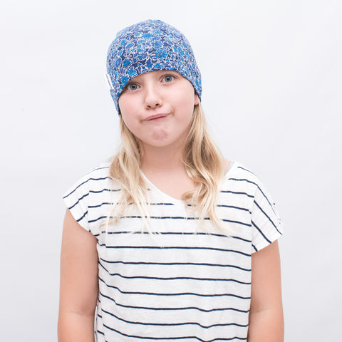 Cleo Blue Liberty Girls Chemo Hat