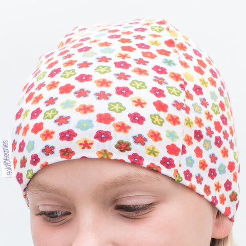 Comfy Stretchy Chemo Headwear for girls