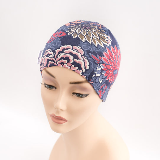 Floral Liberty Print Hair Loss Hat for Chemo