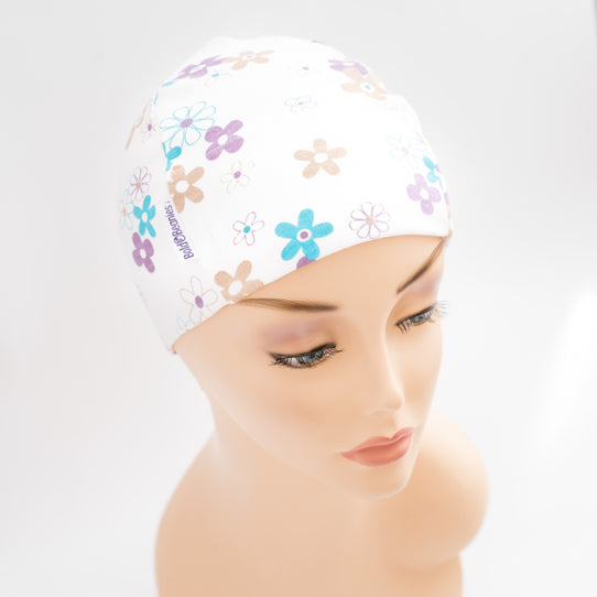 Pretty Cotton Cancer Sleep Cap