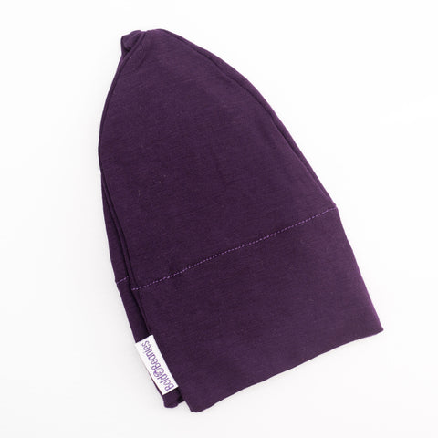 Kids Cancer Hair Loss Purple Hat