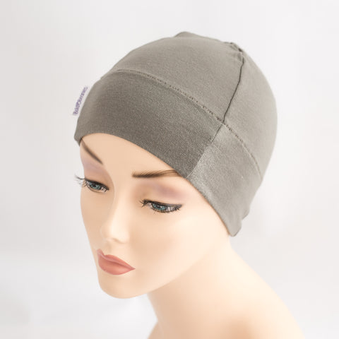 Khaki Women's Cancer Sleep Hat