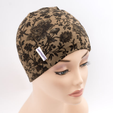 Liberty Floral Bold Beanie Cancer Hat