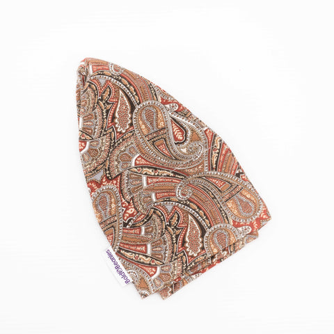 Mens Liberty Paisley Brown Cancer Hat