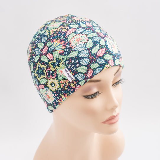 Liberty Elodie Floral Bright Print Summer Cancer Hair Loss