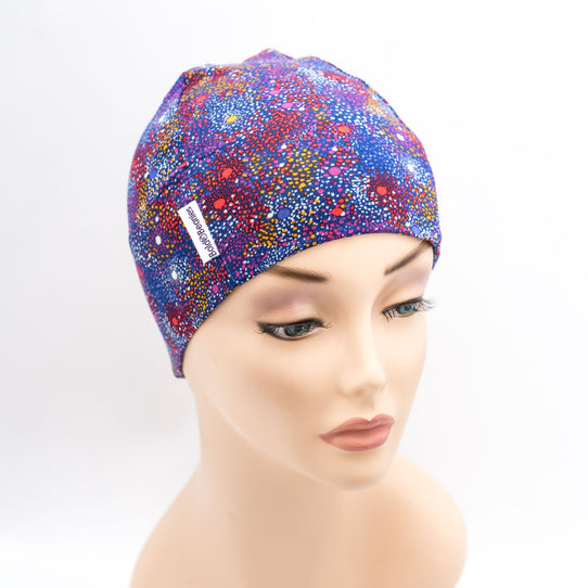 Liberty Cosmo Purple Cotton Cancer Hat