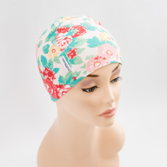 Vintage Rose Cancer Hat
