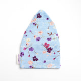 Chemo Hat in Floral Cornflower Blue Print