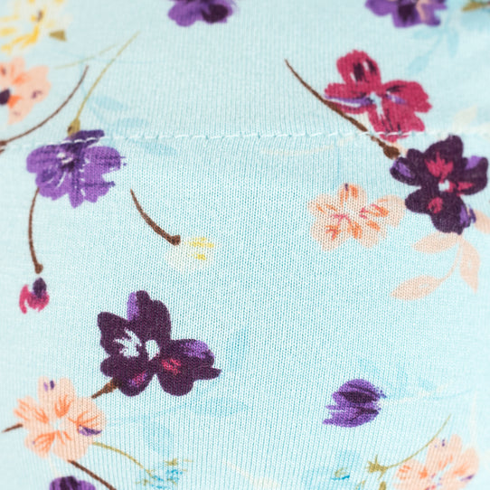 Pretty Floral PICC Line Sleeves UK Helen Aqua