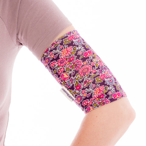 PICC line sleeve cover Liberty Pink Floral