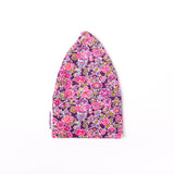 Thin Cotton Liberty Pink Floral Fabric Chemo Hat