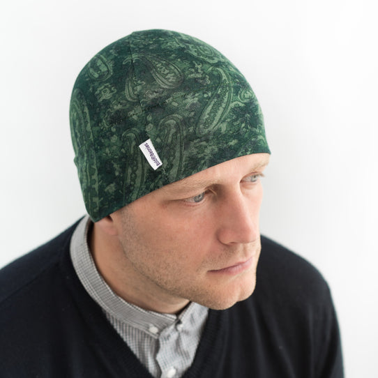 Mens Chemo Hats Liberty Green