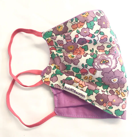 Liberty Betsy Print Pretty Face Mask UK
