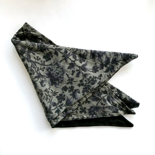 Black Liberty Vintage Print HeadScarf