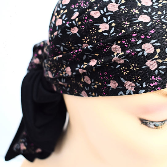 Cancer Reversible Head Scarf